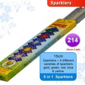 15 cm Sparklers