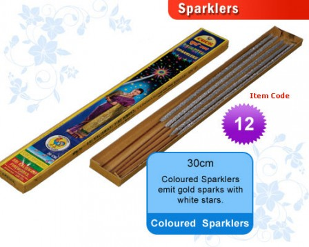 30 cm Coloured Sparklers