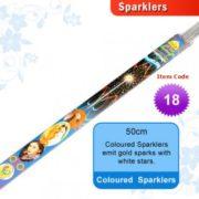 15 cm Green Sparklers